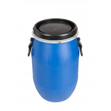 30L Recon Blue HDPE Open Top Drums