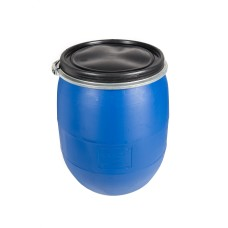 100L Recon Blue HDPE Open Top Drums