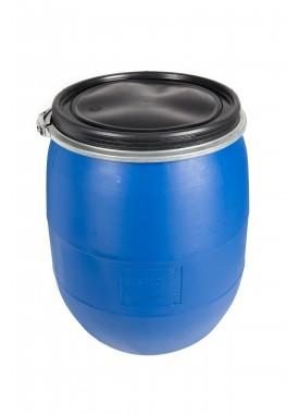 100L Recon Blue HDPE Open Top Drums