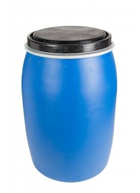 120L Recon Blue HDPE Open Top Drums
