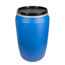 220L Blue HDPE Open Top Drums