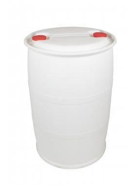 205L Recon White HDPE Close Top Drums